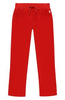 Вельветовые брюки с поясом на кулиске Il Gufo