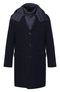 Пальто Guilain из смеси шерсти и кашемира с подстежкой Moncler