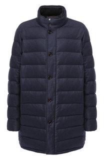 Пуховая куртка из смеси шерсти и кашемира Moorer