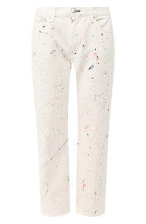 Укороченные джинсы с декоративной отделкой Rag&Bone Rag&;Bone