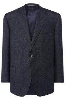 Однобортный пиджак из шерсти Canali