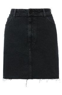Джинсовая мини-юбка с карманами Iro