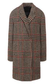 Шерстяное пальто с отложным воротником Windsor