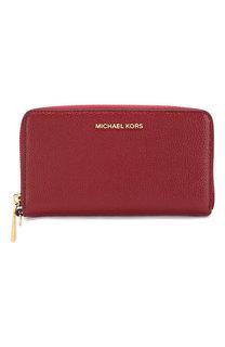 Кожаное портмоне с отделением для смартфона MICHAEL Michael Kors