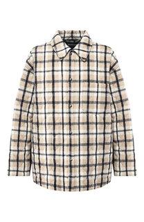 Куртка прямого кроя на кнопках с отложным воротником Balenciaga