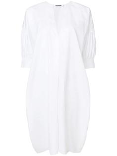 платье-рубашка свободного кроя Jil Sander