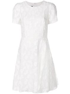 кружевное платье Emporio Armani
