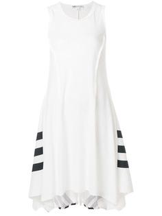 платье в спортивном стиле с асимметричным подолом Y-3