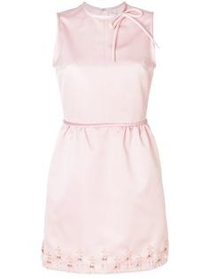 платье миди с отделкой MSGM