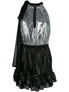 платье с пайетками Christian Pellizzari