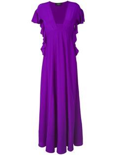 платье с завышенной талией Rochas