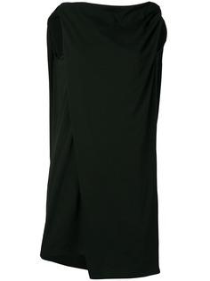 платье-рубашка с драпировкой Rick Owens