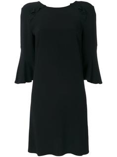 платье-шифт с оборками Liu Jo