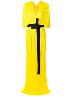 драпированное платье с глубоким вырезом Vionnet