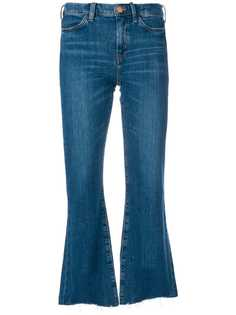 расклешенные джинсы с необработанным низом Mih Jeans