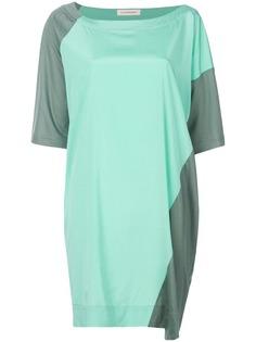 """платье-футболка дизайна """"колор-блок"""" A.F.Vandevorst"""
