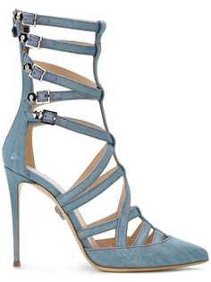 туфли-лодочки с ремешками длиной по щиколотку Philipp Plein