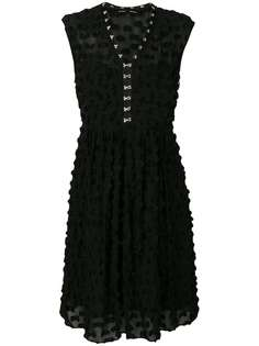 платье без рукавов с фактурной аппликацией Proenza Schouler