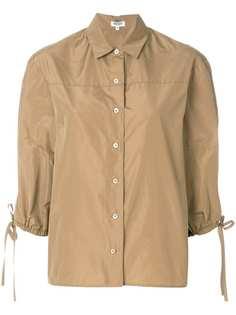 рубашка с косым воротником Kenzo