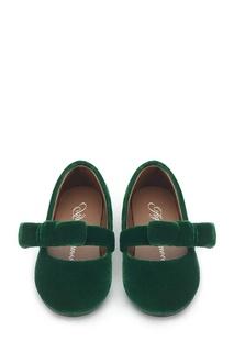 Зеленые бархатные туфли Mia Age of Innocence