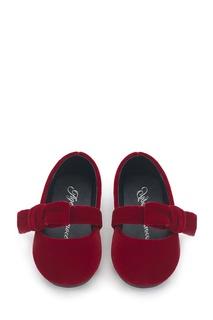Красные бархатные туфли Mia Age of Innocence