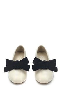 Кожаные туфли с бантом Vicky Age of Innocence