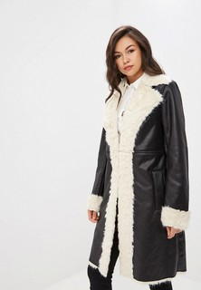 Дубленка LOST INK LONGLINE FAUX FUR SHEARLING