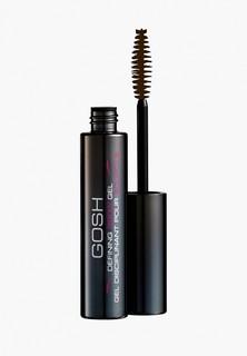 Гель для бровей Gosh Gosh! моделирующий defining brow gel 003 серо-коричневый