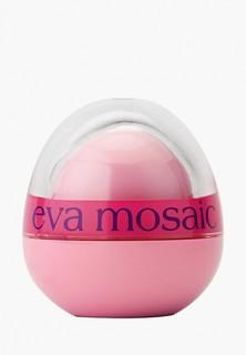 Бальзам для губ Eva Mosaic шарик Care lip balm, клубника, 9 г