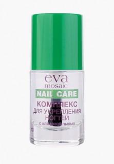 Средство для укрепления ногтей Eva Mosaic с алмазной пылью, 10 мл
