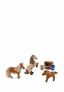 Набор игровой Schleich Семья Шотландского пони