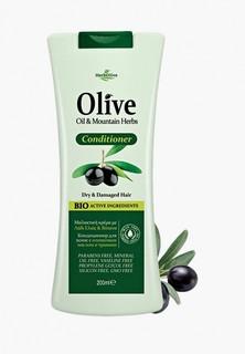 Кондиционер для волос HerbOlive нормальных и жирных с алоэ-вера, 200 мл
