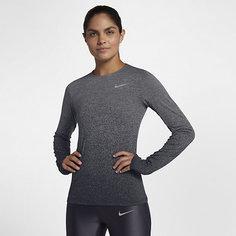 Женская беговая футболка с длинным рукавом Nike Medalist