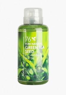 Мицеллярная вода Farm Stay с экстрактом зеленого чая, 500 мл