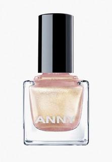 Лак для ногтей Anny тон 152 розовый с золотом