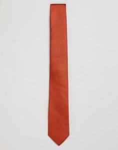 Красный шелковый галстук Calvin Klein - Красный
