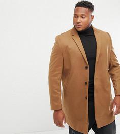 Пальто бежевого цвета New Look Plus - Рыжий
