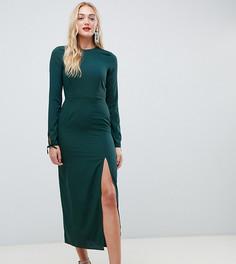 Платье миди Vero Moda Tall - Зеленый