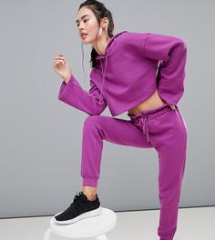 Фиолетовые джоггеры с поясом-оборкой South Beach - Фиолетовый