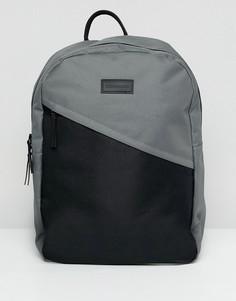 Рюкзак с диагональным карманом Consigned - Черный