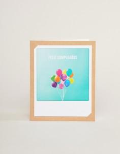 Открытка на день рождения Pickmotion feliz cumpleanos - Мульти