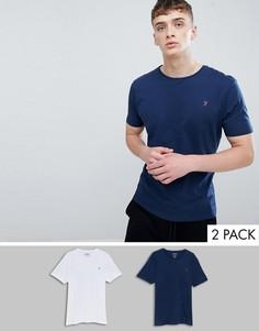 2 футболки для дома Farah - Темно-синий