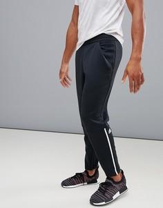 Черные меланжевые джоггеры adidas ZNE CX0702 - Черный
