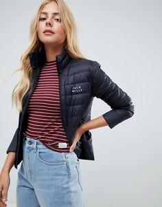 Легкая дутая куртка Jack Wills - Черный