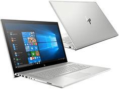 Ноутбук HP Envy 17-bw0006ur 4GT45EA Silver (Intel Core i7-8550U 1.8 GHz/16384Mb/1000Gb + 256Gb SSD/DVD-RW/nVidia GeForce MX150 4096Mb/Wi-Fi/Bluetooth/Cam/17.3/3840x2160/Windows 10 64-bit)