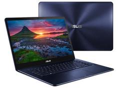 Ноутбук ASUS Zenbook Pro Ultra HD UX550VE-E3159T 90NB0ES1-M03510 Blue (Intel Core i7-7700HQ 2.8 GHz/16384Mb/512Gb SSD/nVidia GeForce GTX 1050 Ti 4096Mb/Wi-Fi/Bluetooth/Cam/15.6/3840x2160/Windows 10 64-bit)