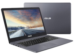 Ноутбук ASUS VivoBook Pro 15 N580GD-E4312 90NB0HX4-M04570 Grey Metal (Intel Core i5-8300H 2.3 GHz/16384Mb/1000Gb + 128Gb SSD/No ODD/nVidia GeForce GTX 1050 2048Mb/Wi-Fi/Bluetooth/Cam/15.6/1920x1080/DOS)
