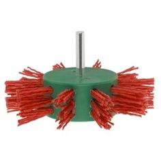 Щетка дисковая нейлоновая (100х25 мм) bosch 2609256543