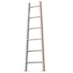 Приставная лестница 7 ступеней эйфель комфорт-профи-пирамида
