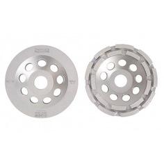 Чашка алмазная двухрядная по бетону и граниту (180х22.2 мм) messer 03-01-180